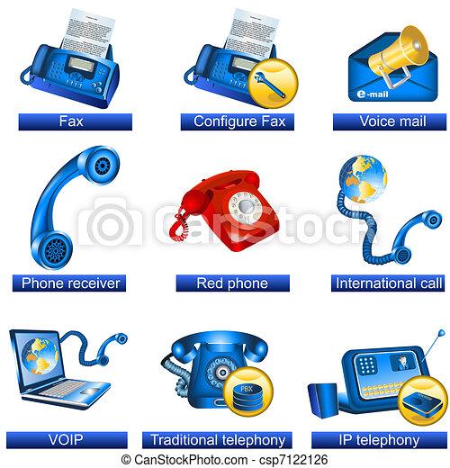 Phone icons - csp7122126