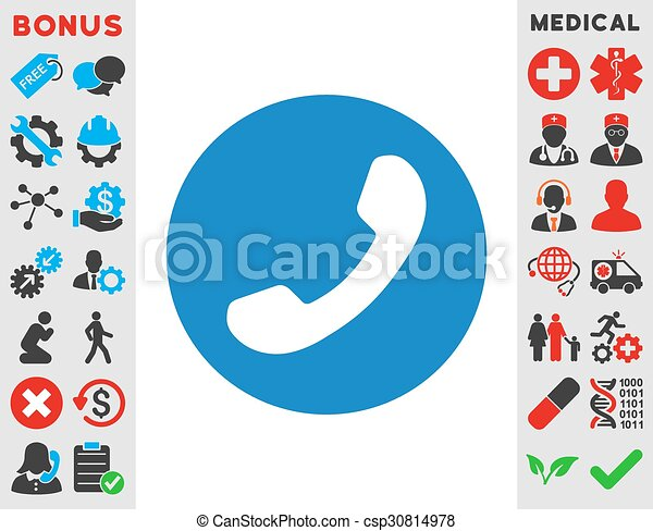 Phone Number Icon Phone Number Vector Icon Style Is Flat Symbol