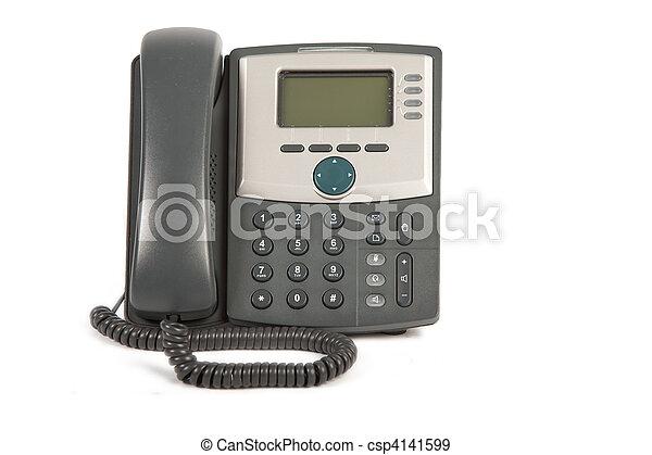 Phone On White Background - csp4141599