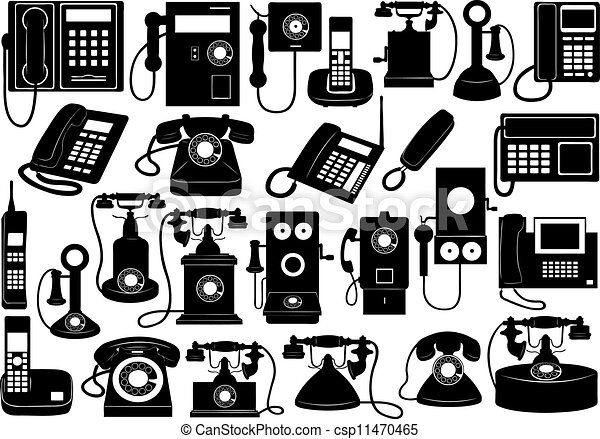 Phone set - csp11470465