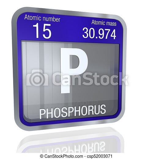 Phosphorus symbol in square shape with metallic border and stock phosphorus symbol in square shape with metallic border and transparent background with reflection on stock illustration urtaz Image collections