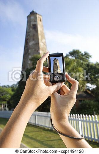 photo., 観光客 - csp1494128