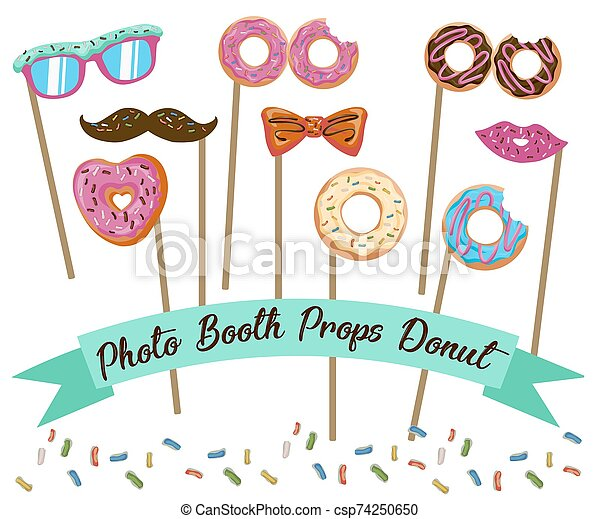 It is a picture of Printable Photo Booth Props Templates throughout wedding
