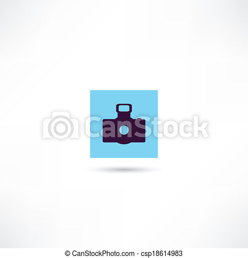 Photo camera - csp18614983