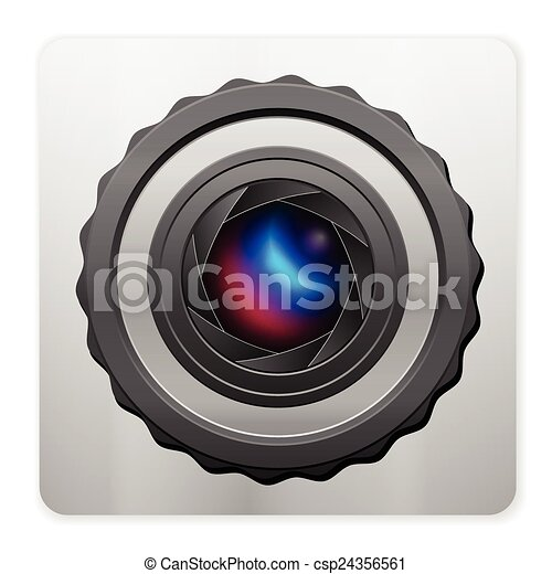 photo camera icon - csp24356561