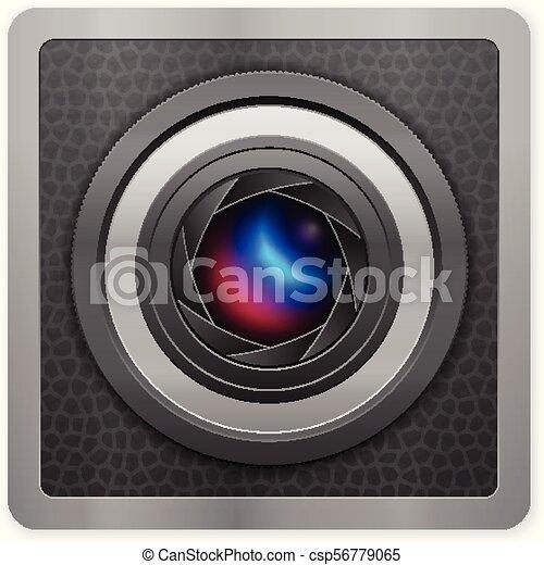 Photo camera icon - csp56779065