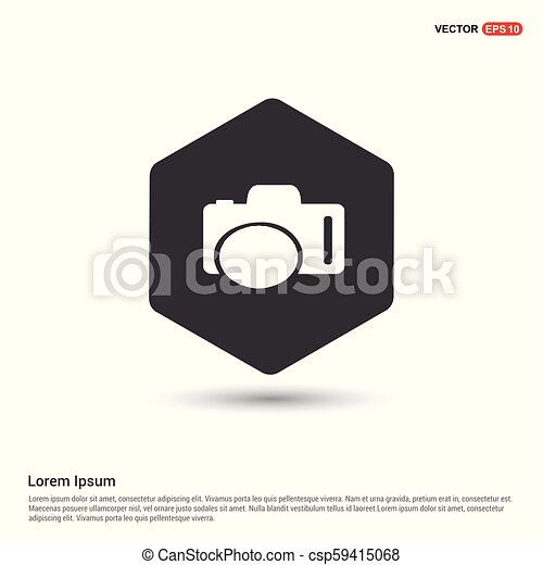 Photo camera icon - csp59415068