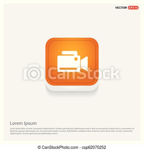 Photo camera icon - csp62070252