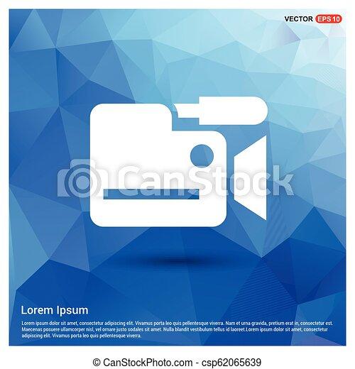 Photo camera icon - csp62065639