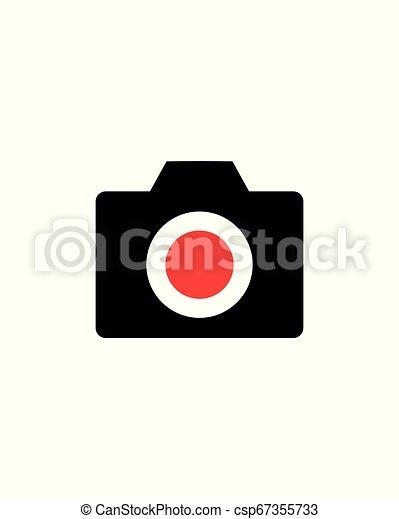 Photo camera icon - csp67355733