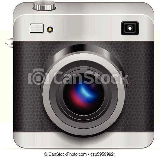 Photo camera icon - csp59539921