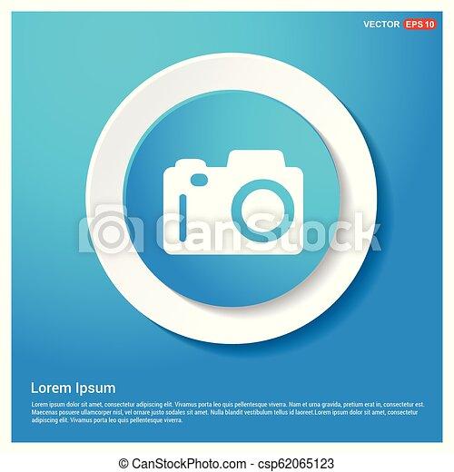 Photo camera icon - csp62065123