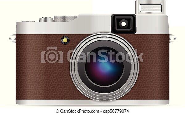 Photo camera - csp56779074