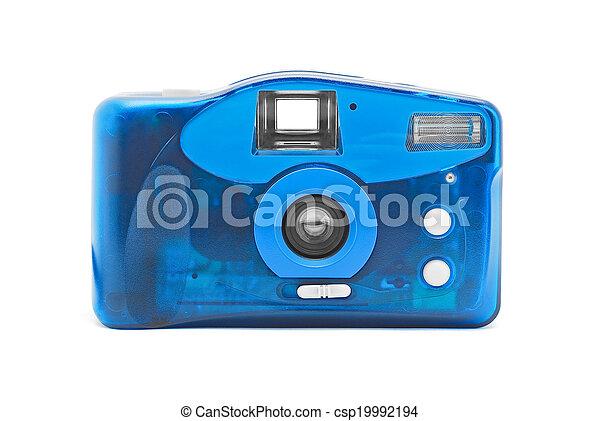 photo camera on film - csp19992194