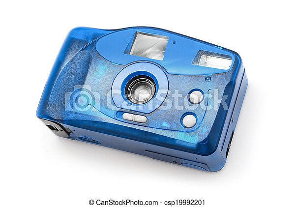 photo camera on film - csp19992201