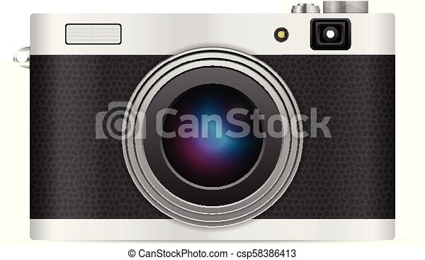 Photo camera - csp58386413