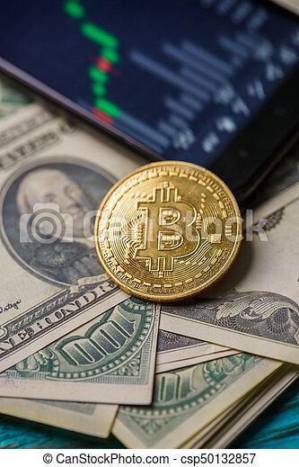 photo, crypto, smartphone - csp50132857