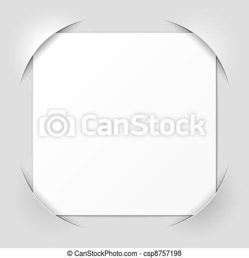 Photo frame corners - csp8757198