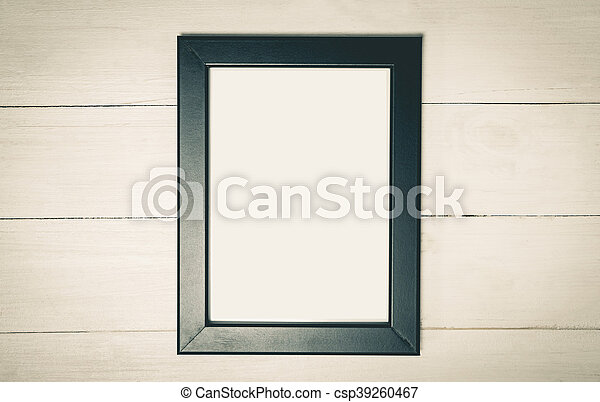 Photo Frame with white copy space. - csp39260467
