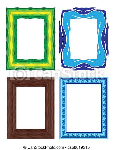 photo frames - csp8619215