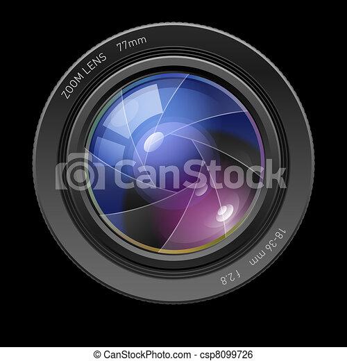 Photo lens - csp8099726