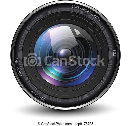 Photo lens - csp9176738