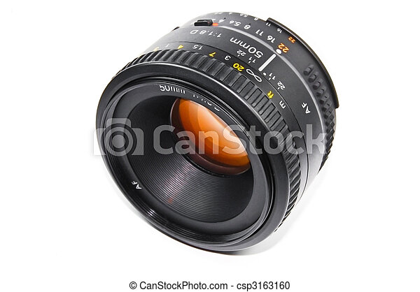 Photo lenses - csp3163160