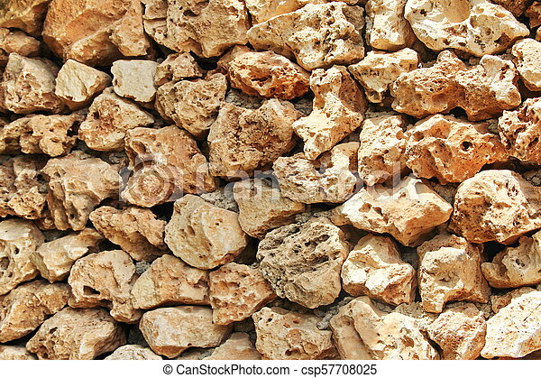 photo of a stone wall - csp57708025