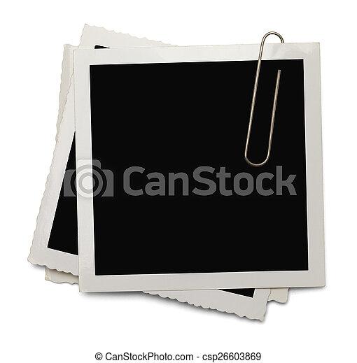 Photo Paper Clip - csp26603869