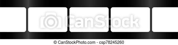 Photo Roll Background Border - csp78245260