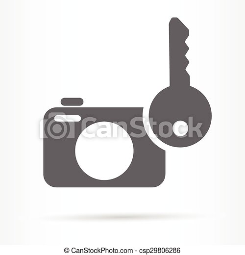 photo safety storage web icon - csp29806286