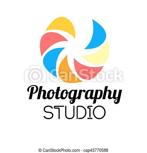 Photo studio or professional photographer logo template design ...