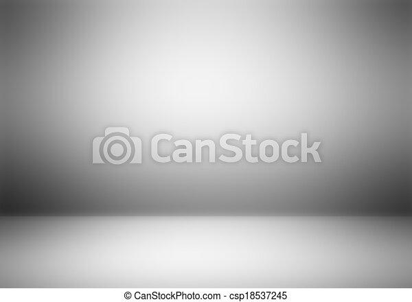 photographe, clair, studio, vide, arrière-plan. - csp18537245