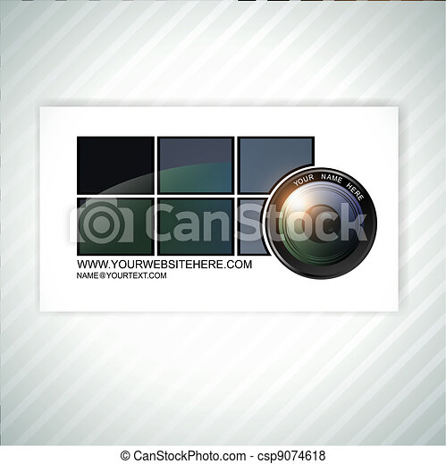 Photographer business card template photographer abstract business photographer business card template wajeb Images