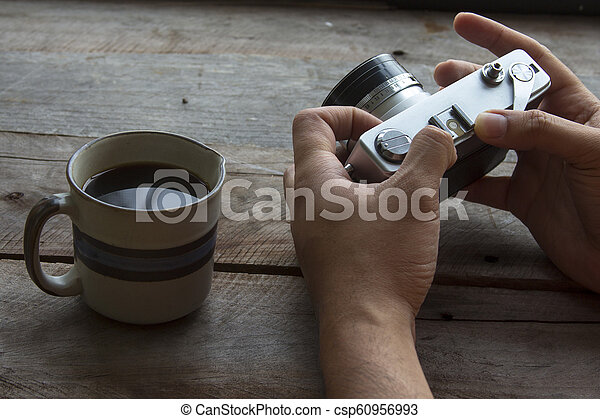 Photographer or designer workspace - csp60956993