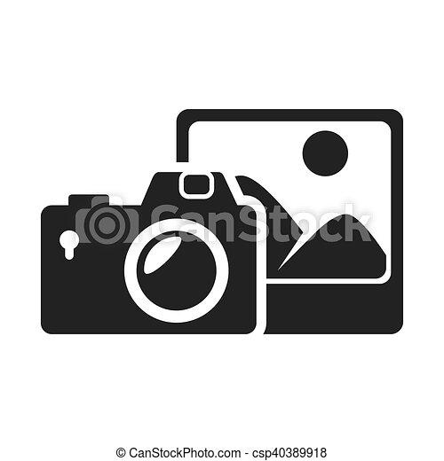 photographic camera device - csp40389918