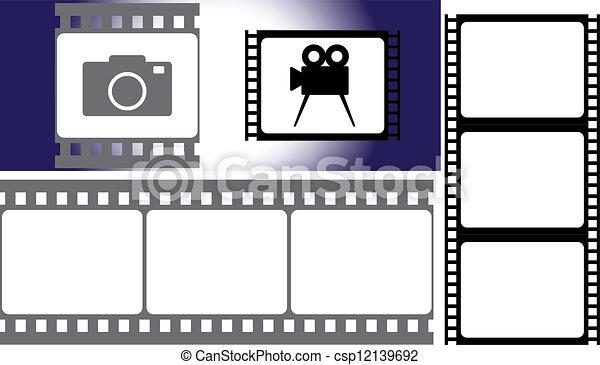 photographic film - csp12139692