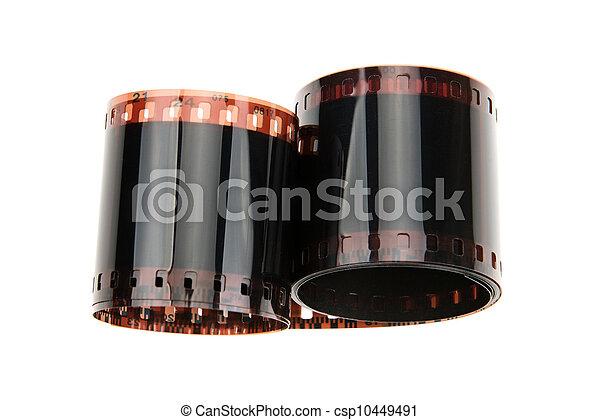 photographic film in rolls - csp10449491