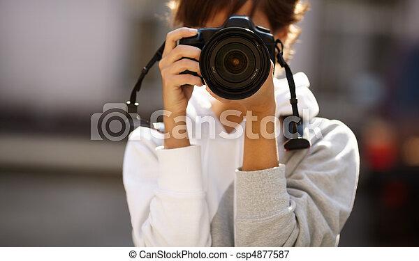 photographie, rue - csp4877587