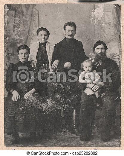 eabcbd921e Photographies, vieux, family., noir, russe, blanc. Photographies ...