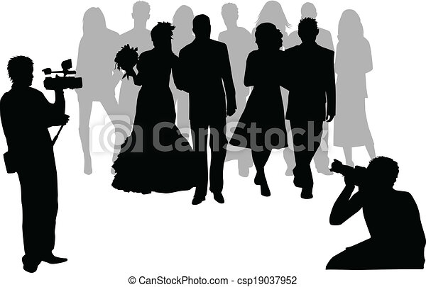 photographing wedding ceremony clipart vector search