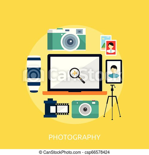 Photography Conceptual illustration Design - csp66578424