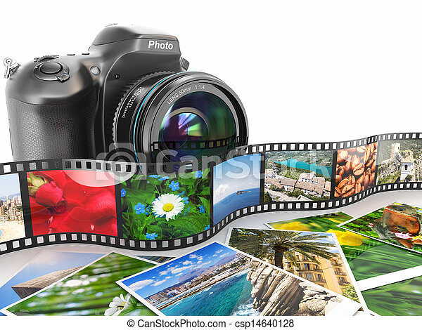 photography., film, photos., macchina fotografica, slr - csp14640128