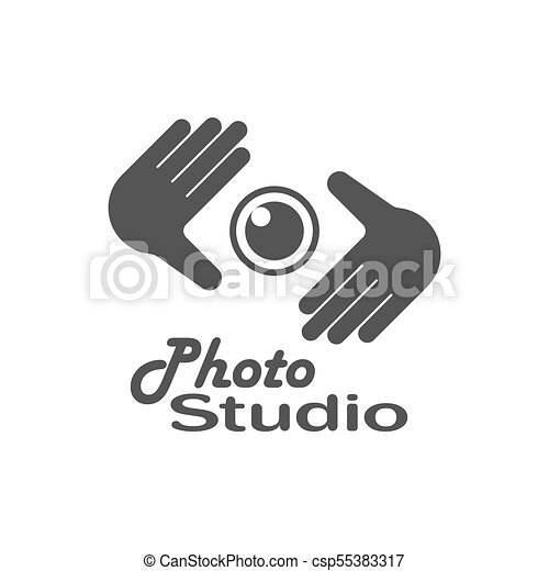 Photography logo design template. retro vector badge. photo ...