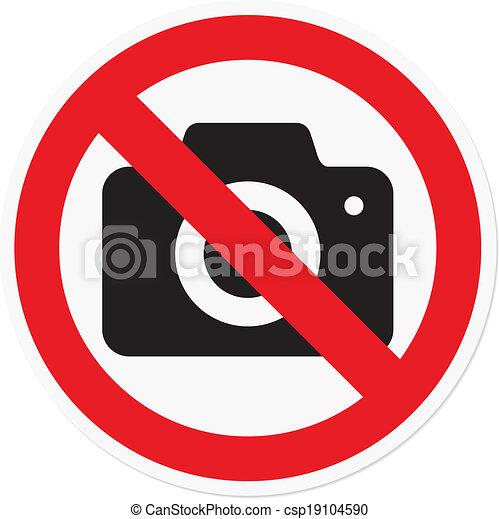 Photography prohibited - csp19104590