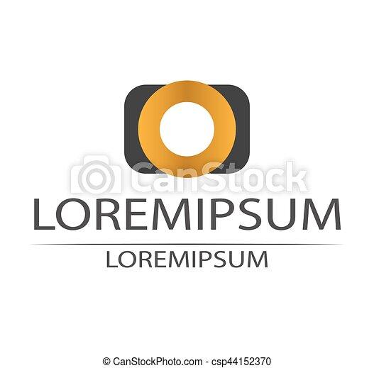 Photos Logo Design - csp44152370
