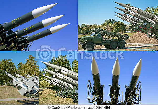 photos of combat rocket missiles - csp10541494