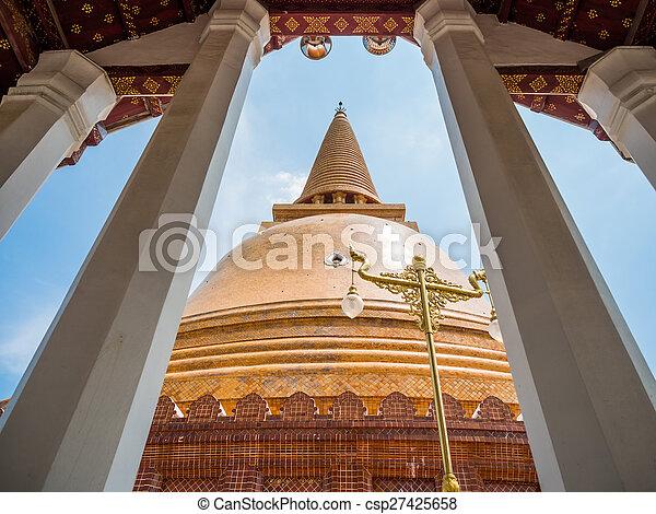 Phra Pathom Chedi - csp27425658