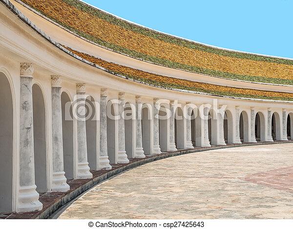 Phra Pathom Chedi temple - csp27425643