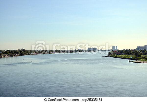 Río Chao phraya - csp25335161